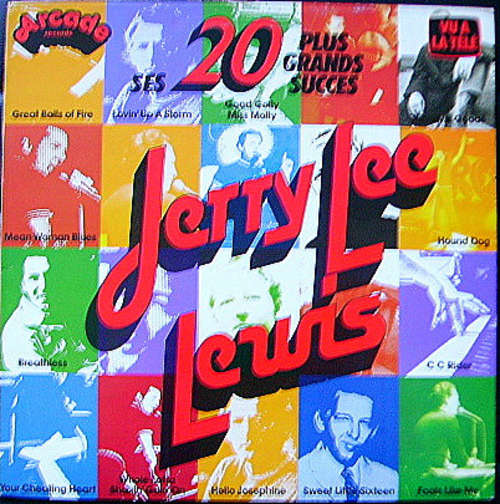 Bild Jerry Lee Lewis - Ses 20 Plus Grands Succès (LP, Comp, Mono) Schallplatten Ankauf