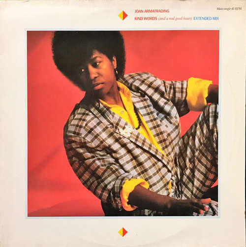 Cover zu Joan Armatrading - Kind Words (And A Real Good Heart) (Extended Mix) (12, Maxi) Schallplatten Ankauf