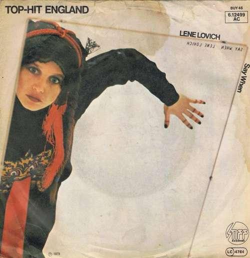 Bild Lene Lovich - Say When (7, Single) Schallplatten Ankauf