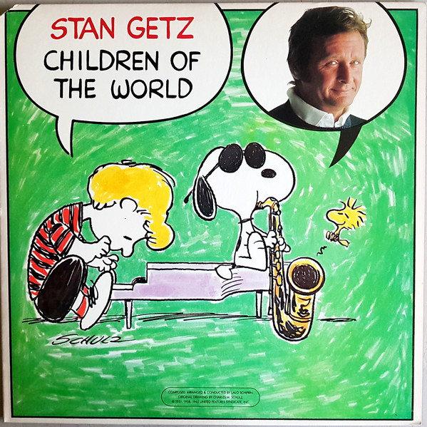 Cover Stan Getz - Children Of The World (LP, Album) Schallplatten Ankauf