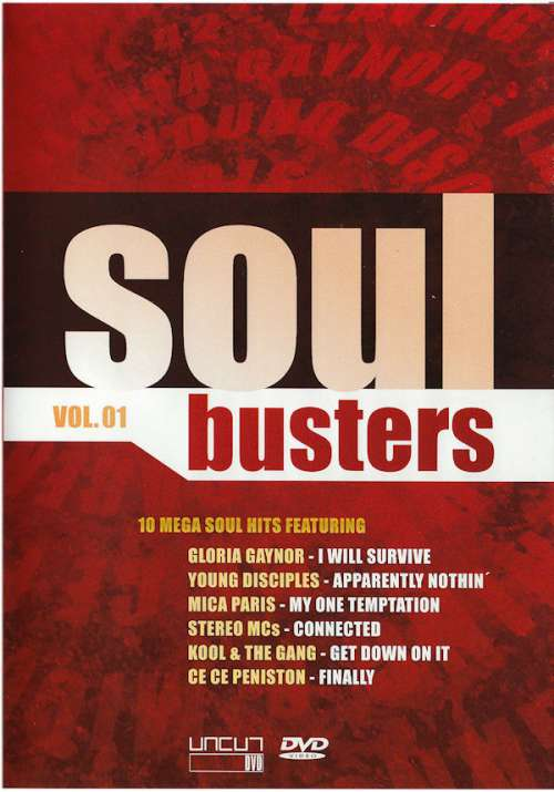 Cover Various - Soulbusters (Vol. 01) (DVD-V, Comp, Multichannel, PAL, Dol) Schallplatten Ankauf