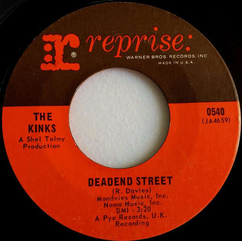 Cover The Kinks - Deadend Street (7, Single) Schallplatten Ankauf