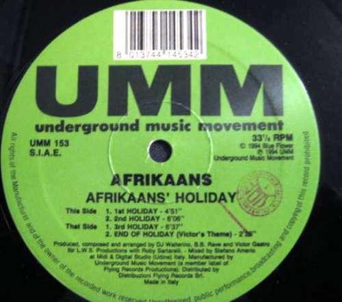 Bild Afrikaans - Afrikaans'  Holiday (12) Schallplatten Ankauf