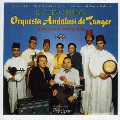 Cover Juan Peña Lebrijano* with Orquesta Andalusi De Tanger - Encuentros (LP, Album) Schallplatten Ankauf
