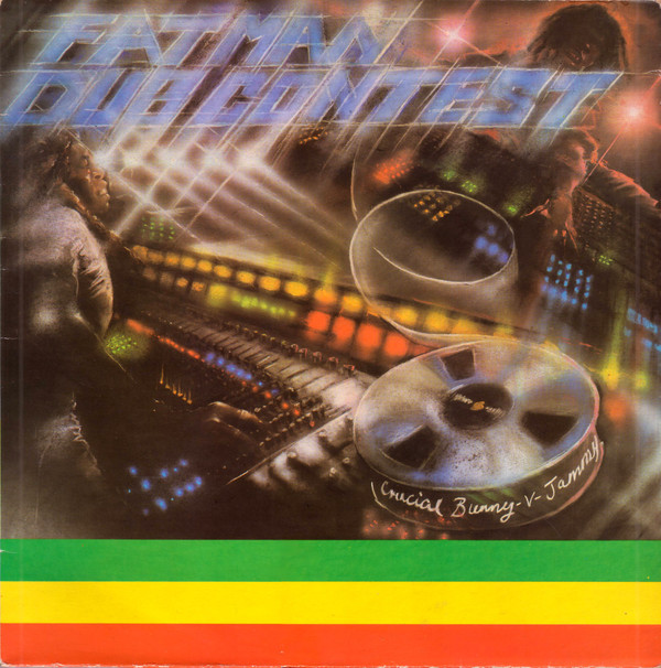 Cover Crucial Bunny Versus Prince Jammys* - Fatman Dub Contest (LP, Album) Schallplatten Ankauf
