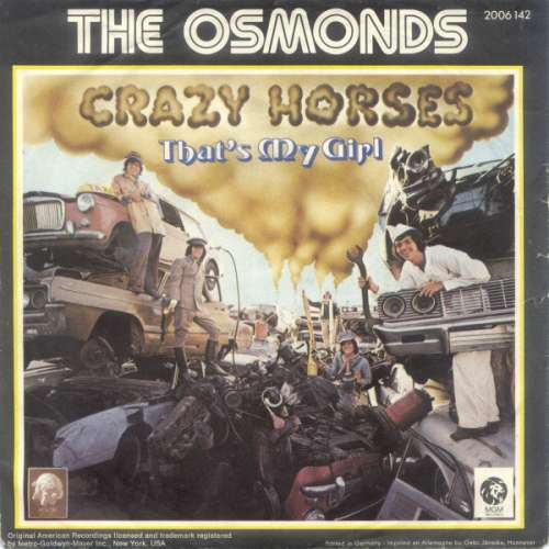 Bild The Osmonds - Crazy Horses (7, Single) Schallplatten Ankauf