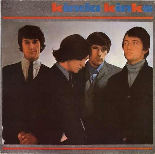 Cover zu The Kinks - Kinda Kinks (LP, Album, Mono, RE) Schallplatten Ankauf
