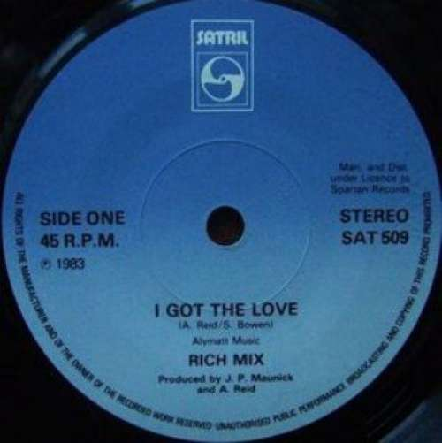 Bild Rich Mix - I Got The Love (12) Schallplatten Ankauf