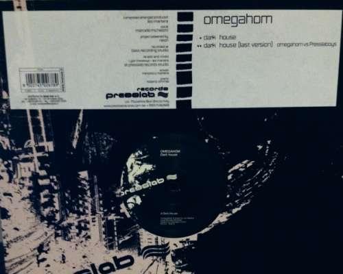 Cover zu Omegahom - Dark House (12) Schallplatten Ankauf