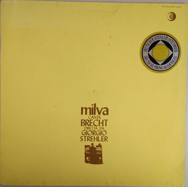 Cover Milva - Milva Canta Brecht (LP, Album, RE) Schallplatten Ankauf