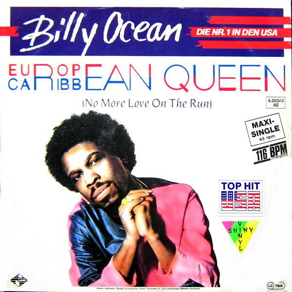 Cover Billy Ocean - European Queen (No More Love On The Run) (12, Maxi, Gre) Schallplatten Ankauf