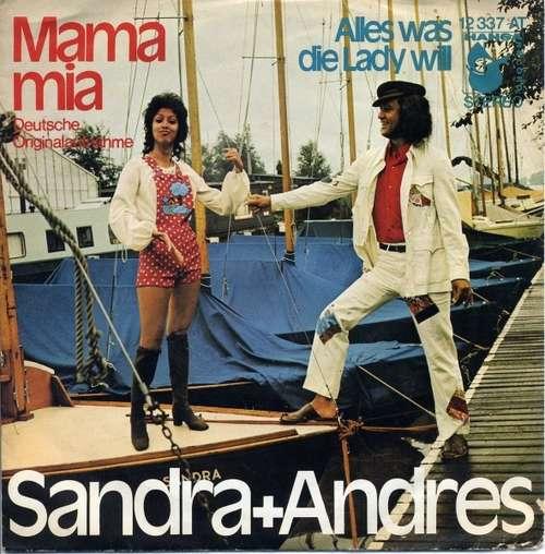 Bild Sandra + Andres* - Mama Mia (7, Single) Schallplatten Ankauf