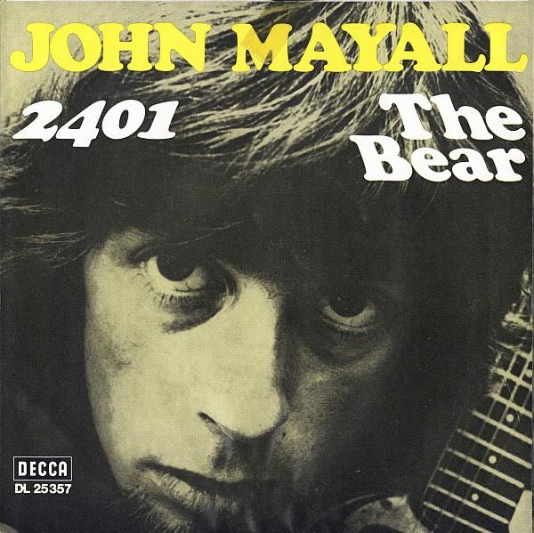 Bild John Mayall - 2401 / The Bear (7) Schallplatten Ankauf