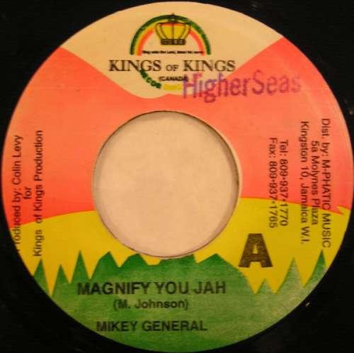 Bild Mikey General - Magnify You Jah (7) Schallplatten Ankauf