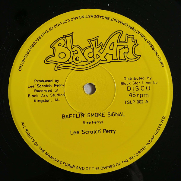 Cover Lee 'Scratch' Perry* - Bafflin' Smoke Signal / Captive (12, Yel) Schallplatten Ankauf