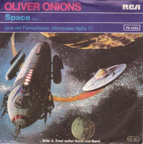 Cover Oliver Onions / M. & G. Orchestra* - Space / Zwei Ausser Rand Und Band (7, Single) Schallplatten Ankauf