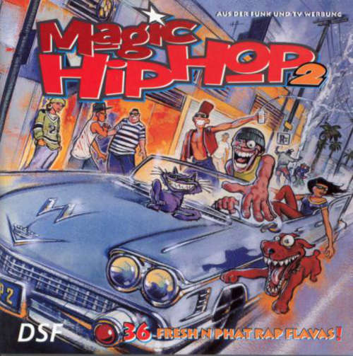 Cover Various - Magic Hip Hop 2 (36 Fresh N Phat Rap Flavas!) (2xCD, Comp) Schallplatten Ankauf