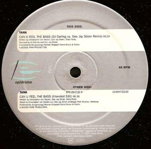 Cover Tank - Can U Feel The Bass (12) Schallplatten Ankauf
