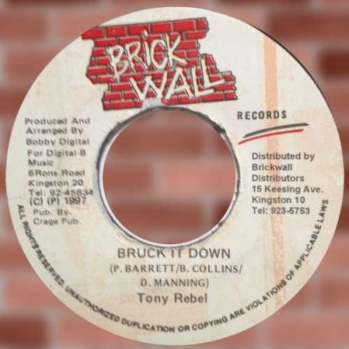 Bild Tony Rebel - Bruck It Down (7) Schallplatten Ankauf