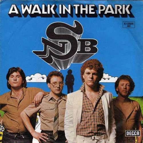 Cover Nick Straker Band - A Walk In The Park (7, Single) Schallplatten Ankauf