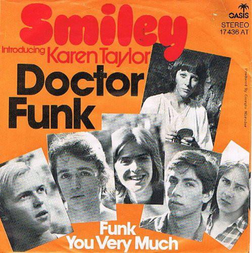 Cover zu Smiley (4) Introducing Karen Taylor - Doctor Funk / Funk You Very Much (7) Schallplatten Ankauf