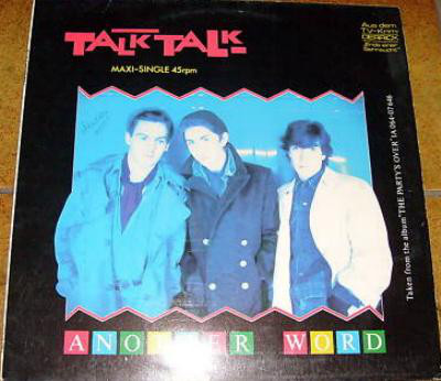 Cover zu Talk Talk - Another Word (12, Maxi) Schallplatten Ankauf