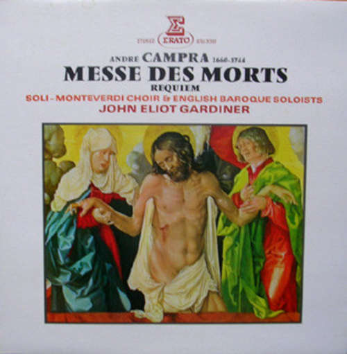 Cover zu André Campra - Monteverdi Choir*, English Baroque Soloists*, John Eliot Gardiner - Messe Des Morts - Requiem (LP) Schallplatten Ankauf
