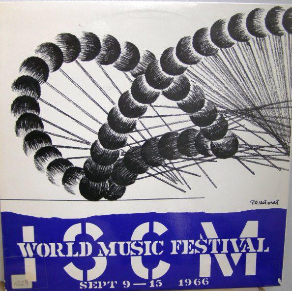 Cover Various - ISCM World Music Festival Sept 9-15 1966 (LP, Mono) Schallplatten Ankauf