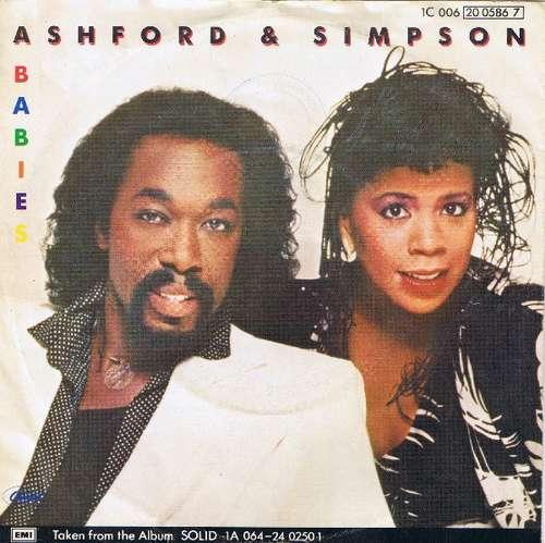 Cover zu Ashford & Simpson - Babies (7, Single) Schallplatten Ankauf