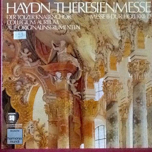 Cover zu Haydn* — Der Tölzer Knabenchor*, Collegium Aureum Auf Originalinstrumenten* - Theresienmesse (Messe B-Dur Hob. XXII: 12) (LP, Quad) Schallplatten Ankauf