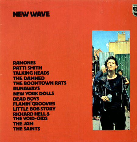 Cover Various - New Wave (LP, Comp) Schallplatten Ankauf