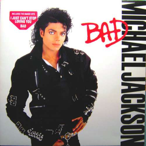 Cover Michael Jackson - Bad (LP, Album, Gat) Schallplatten Ankauf