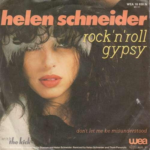 Bild Helen Schneider With The Kick (2) - Rock 'N' Roll Gypsy (7, Single) Schallplatten Ankauf