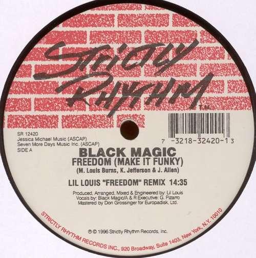 Cover Black Magic - Freedom (Make It Funky) (The Remixes) (12) Schallplatten Ankauf