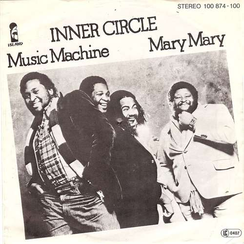 Bild Inner Circle - Music Machine / Mary Mary (7, Single) Schallplatten Ankauf