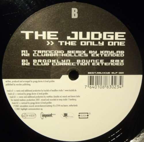Cover zu The Judge - The Only One (12) Schallplatten Ankauf