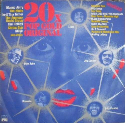 Bild Various - 20x Pop Gold Original (LP, Comp) Schallplatten Ankauf