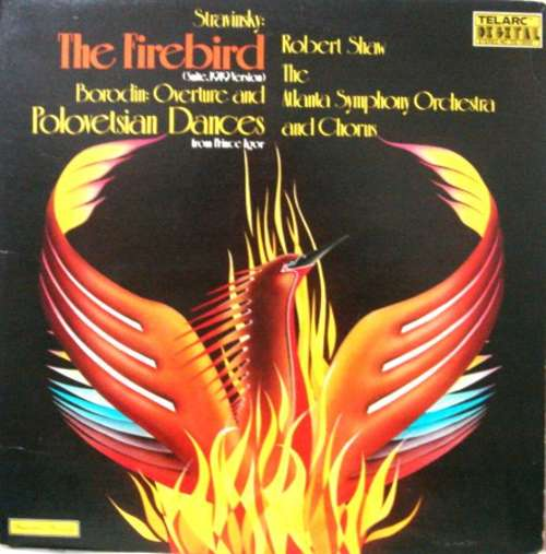 Cover The Firebird (Suite, 1919 Version) / Overtures And Polovetsian Dances From Prince Igor Schallplatten Ankauf