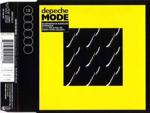 Cover Depeche Mode - Blasphemous Rumours / Somebody (CD, Single, RE) Schallplatten Ankauf