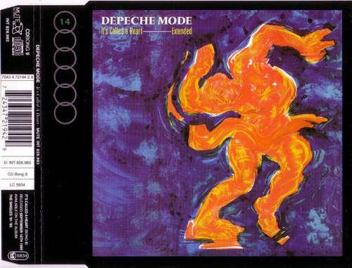 Cover Depeche Mode - It's Called A Heart (CD, Single, RE) Schallplatten Ankauf