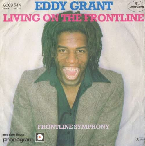 Bild Eddy Grant - Living On The Frontline (7, Single) Schallplatten Ankauf