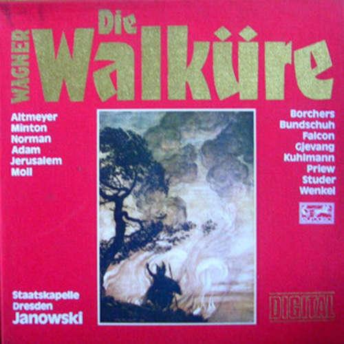 Cover zu Wagner* - Staatskapelle Dresden, Marek Janowski - Die Walküre (5xLP + Box) Schallplatten Ankauf