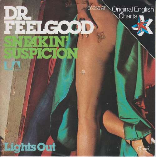 Cover Dr. Feelgood - Sneakin' Suspicion (7, Single) Schallplatten Ankauf
