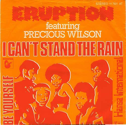Bild Eruption (4) Featuring Precious Wilson - I Can't Stand The Rain (7, Single) Schallplatten Ankauf