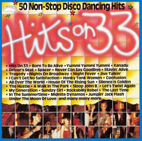 Cover Sweet Power (2) - Hits On 33 - 50 Non-Stop Disco Dancing Hits (LP, Album, Mixed) Schallplatten Ankauf