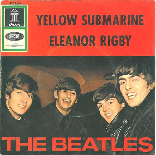 Cover The Beatles - Yellow Submarine / Eleanor Rigby (7, Single) Schallplatten Ankauf