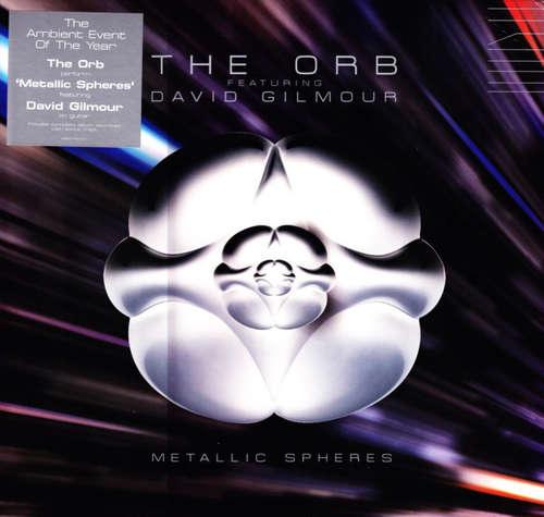 Cover The Orb Featuring David Gilmour - Metallic Spheres (2xLP, Album) Schallplatten Ankauf
