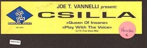 Cover Joe T. Vannelli Presents Csilla - Queen Of Insane / Play With The Voice (2x12) Schallplatten Ankauf