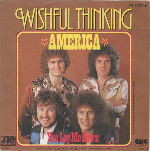 Cover Wishful Thinking - America (7, Single) Schallplatten Ankauf