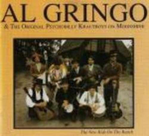 Cover Al Gringo & The Original Psychobilly Krautboys On Moonshine - The New Kids On The Ranch (LP) Schallplatten Ankauf